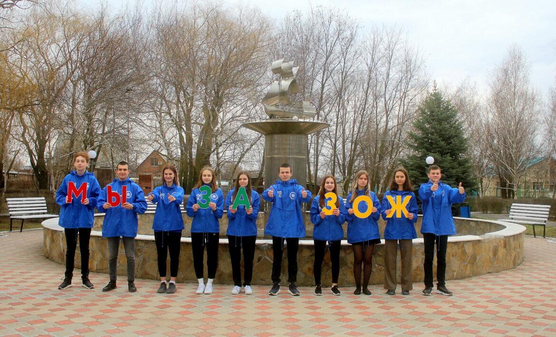 Молодёжный флешмоб и общешкольные зарядки: в Волгодонском районе отметили Всемирный день здоровья