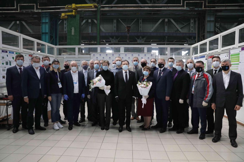 Награды за труд и верность атомной отрасли получили сотрудники Ростовской АЭС