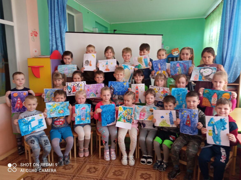 Космический праздник в детском саду «Вишенка»