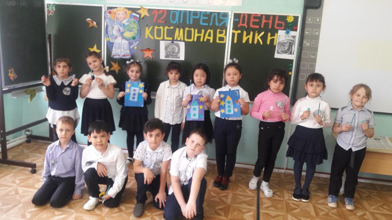 «Полёт в космос» побединских первоклассников