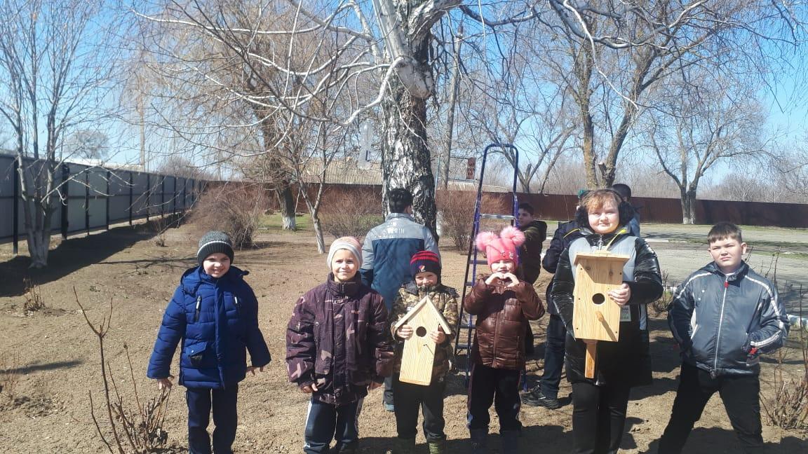 Международный день птиц отметили в Большовской школе