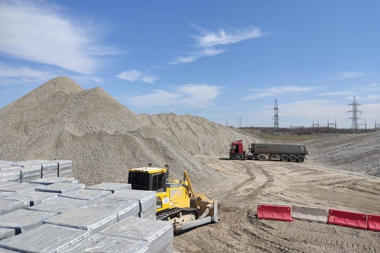 Начался второй этап реконструкции подъездной дороги к Ростовской АЭС
