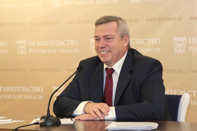Василий Голубев поздравил глав муниципалитетов Дона с Днем местного самоуправления