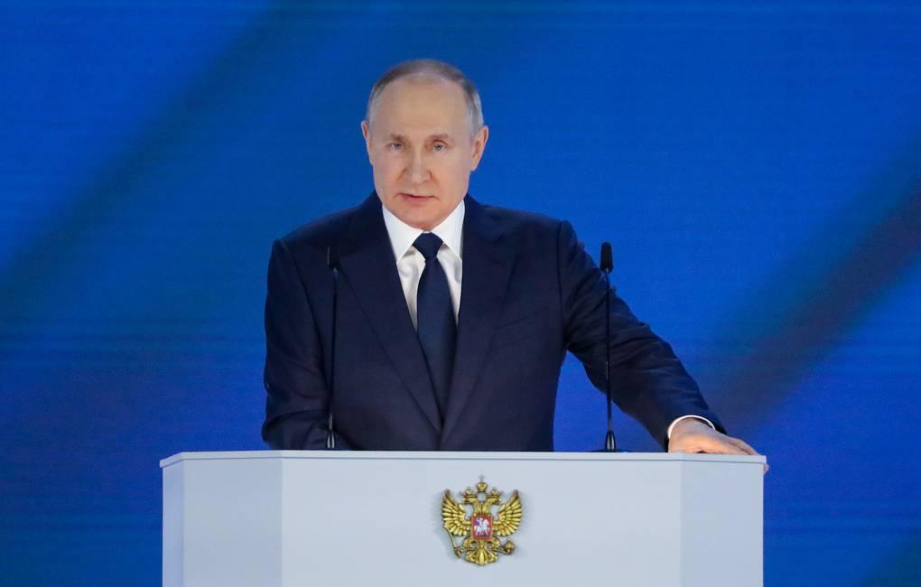 Главные тезисы послания Владимира Путина Федеральному Собранию-2021
