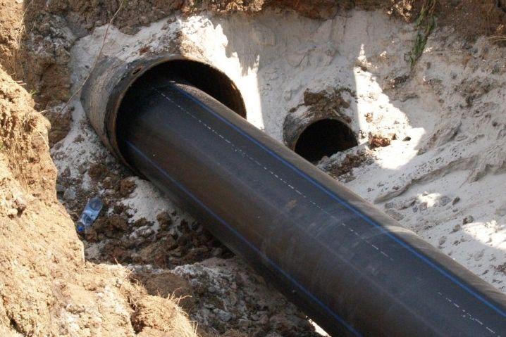 В Волгодонске начали реконструкцию на участке подводящего коллектора и магистральной канализации