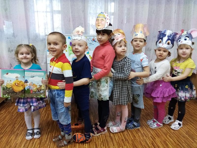 В детском саду «Вишенка» прошла «Книжкина неделя»