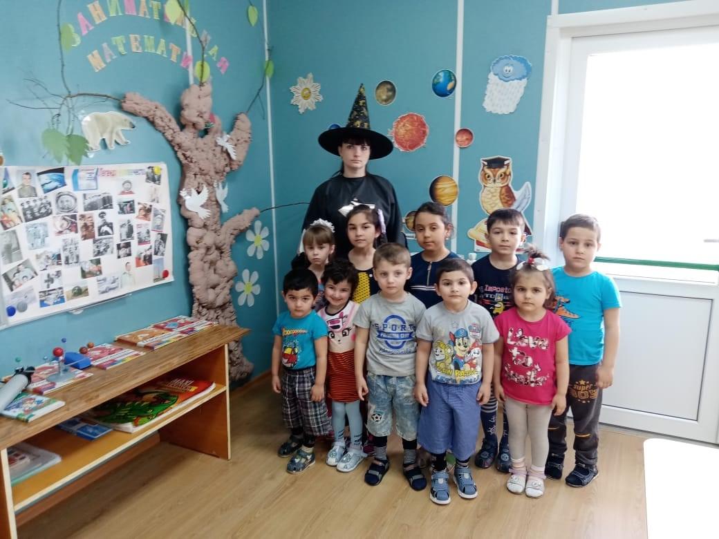 Звездочёт побывал в гостях у ребят из Пирожковского детского сада