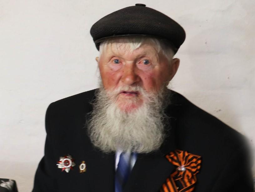 95-летний юбилей отметил ветеран из хутора Пирожок Семён Афанасьевич Бузуверов
