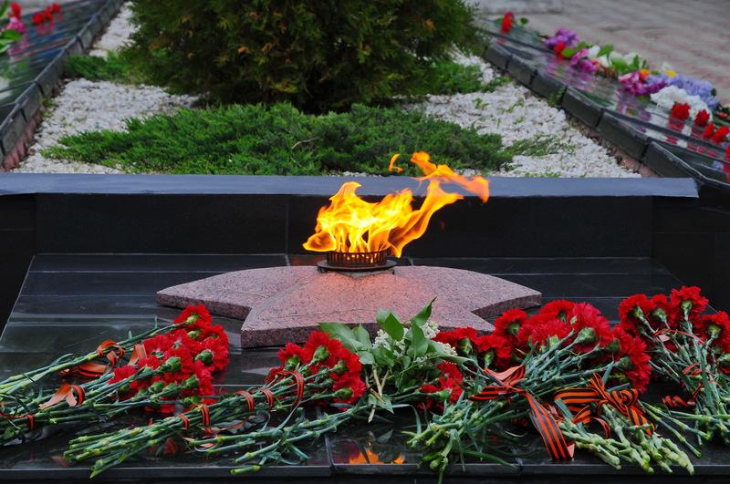 Празднование 76-годовщины Великой Победы состоялось в станице Романовская