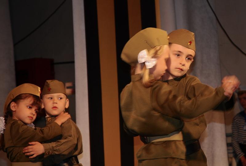 Праздничный концерт «Салют Победы!» прошел в станице Романовской