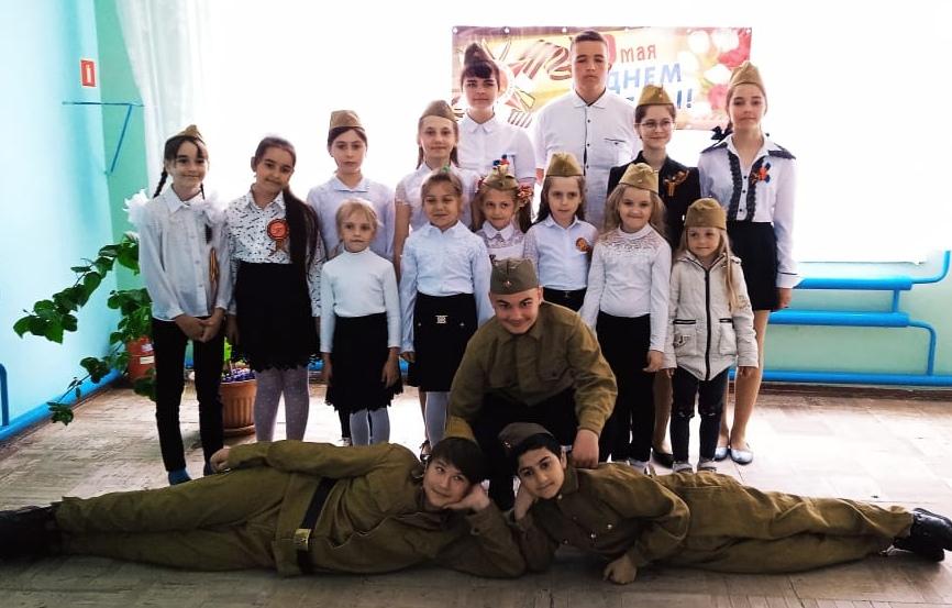 День Победы отметили в хуторе Семёнкин
