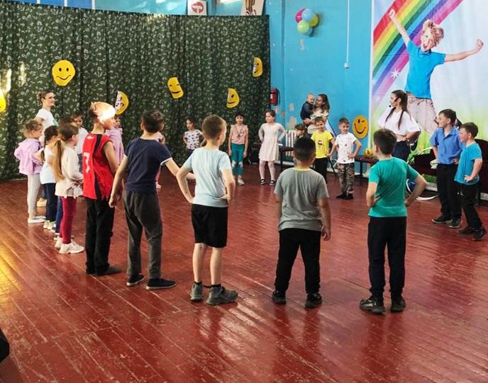 Игровая программа «Стартуем вместе» прошла в Романовском районном доме культуры