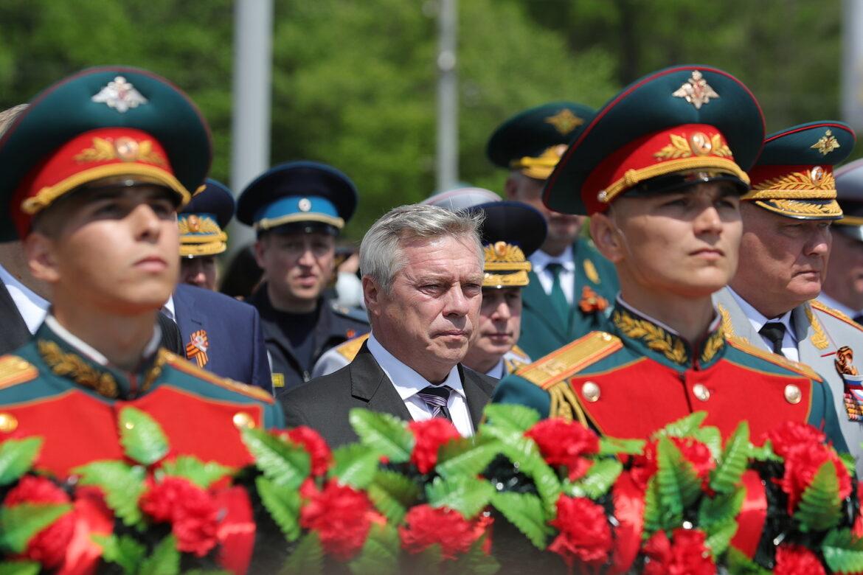 Василий Голубев поздравил жителей Ростовской области с 9 Мая