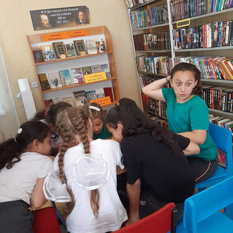 В Потаповской библиотеке состоялось мероприятие, посвященное Дню славянской письменности