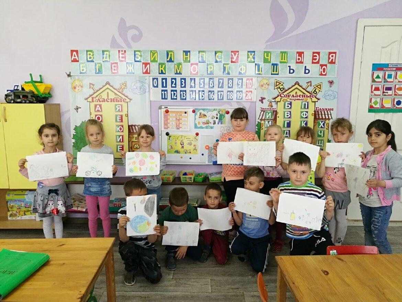 Воспитанники детского сада «Родничок» за здоровый образ жизни