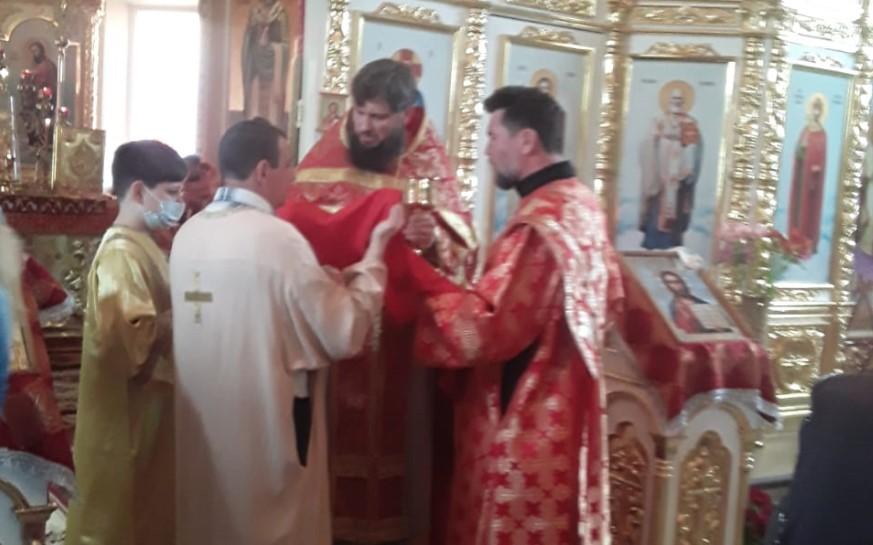 Престольный праздник в храме Николая Чудотворца