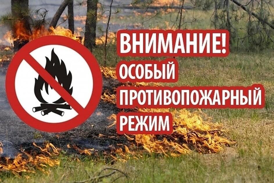 На территории Волгодонского района введён особый противопожарный режим