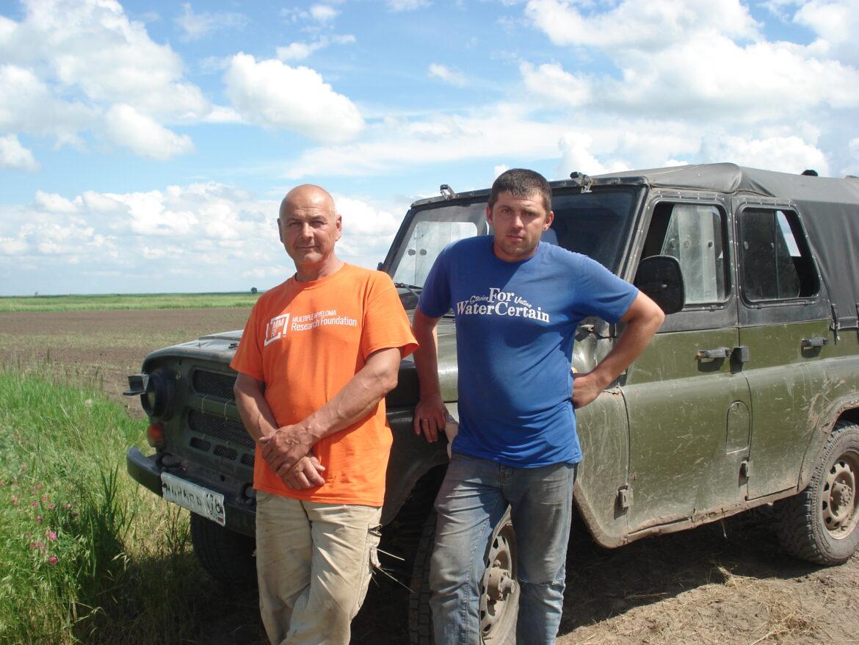 В КФХ Валерия Васильевича Исаева из станицы Большовской недавно начали выращивать рис