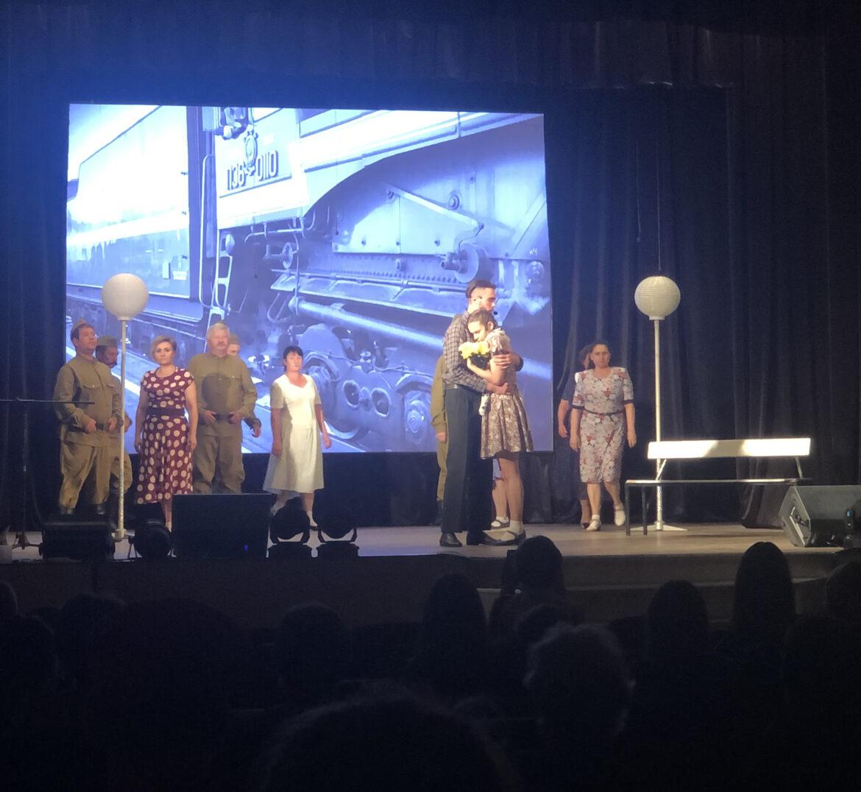 Концертная программа «Любовь, опалённая войной» собрала зрителей в зале Романовского РДК