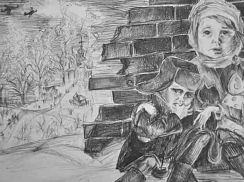 Житель хутора Холодный Василий Иванович Грушко делится воспоминаниями о детстве, украденном войной