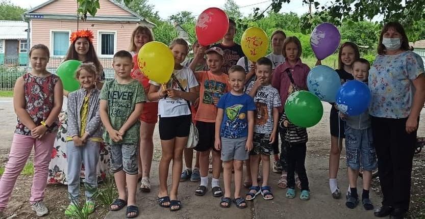 В Большовском СДК ребят поздравили с Днем защиты детей
