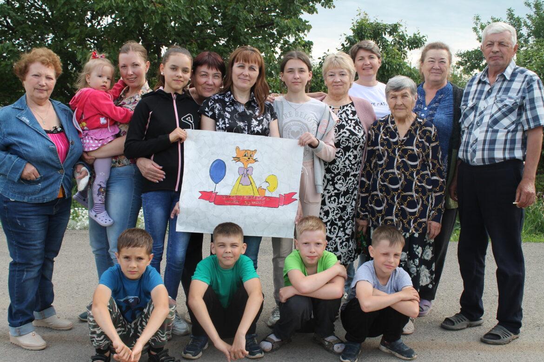 Замечательные соседи в посёлке Солнечный