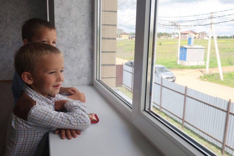 Многодетной семье – ключи от нового дома