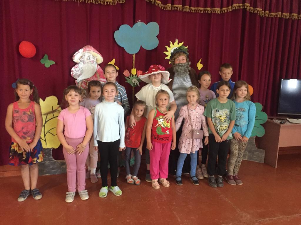 «Экологическая мозаика» для детей прошла в Парамоновском клубе