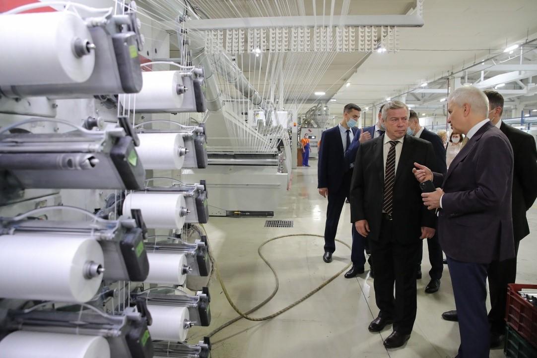 С начала года промышленное производство на Дону выросло на 15,4 процента