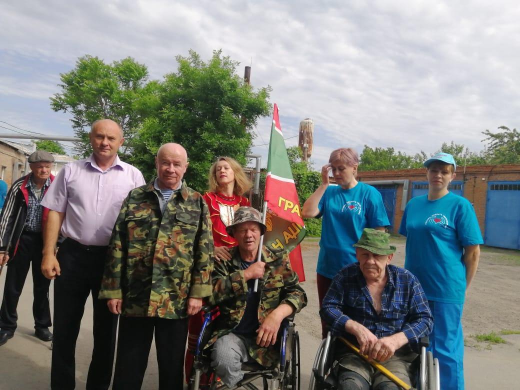 В Романовском специальном доме-интернате прошло мероприятие, посвящённое Дню пограничных войск