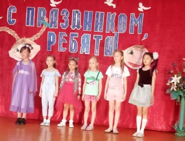Праздник детства отметили в Виноградном