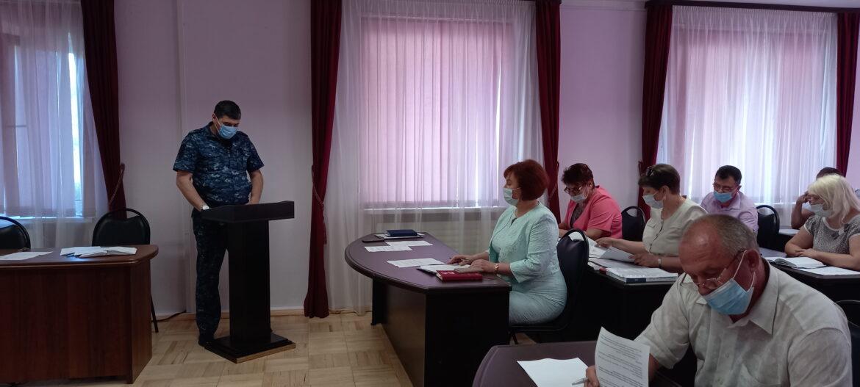 Заседание координационного совещания состоялось в Волгодонском районе