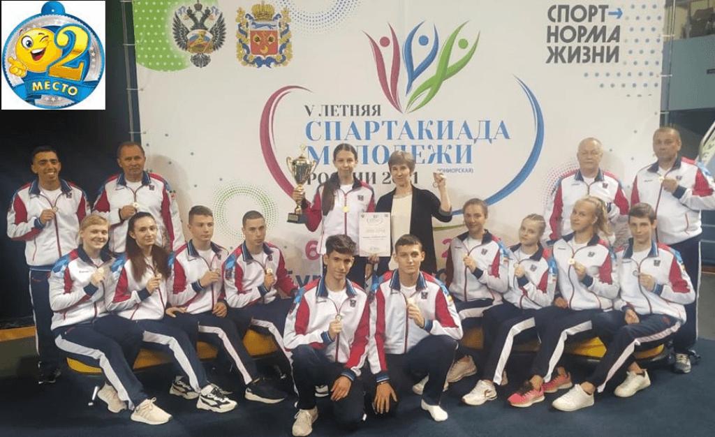 Ростовская область занимает четвертое общекомандное место на V летней Спартакиаде молодежи России 2021 года