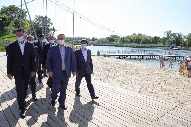 В правительстве Ростовской области обсудили итоги государственной программы «Комплексное развитие сельских территорий»