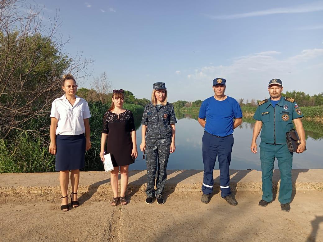 В Волгодонском районе продолжается профилактика несчастных случаев на воде