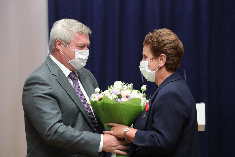 Губернатор вручил государственные награды донским аграриям