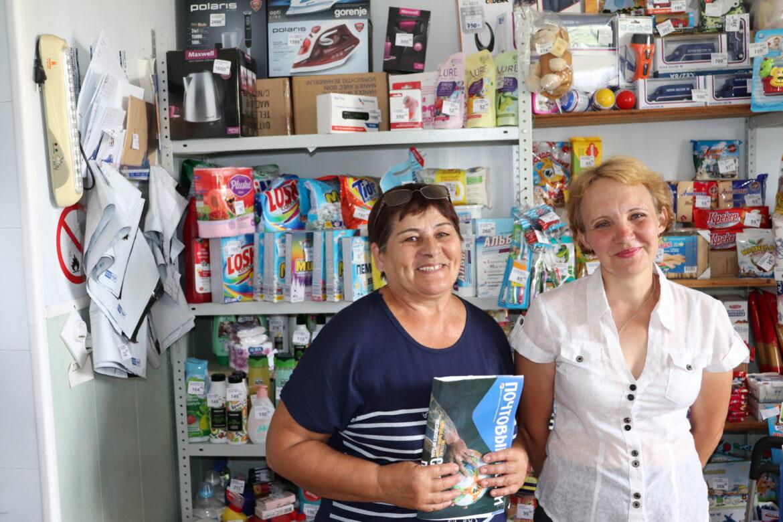 В День Российской почты рассказываем о работниках почтового отделения в поселке Виноградный