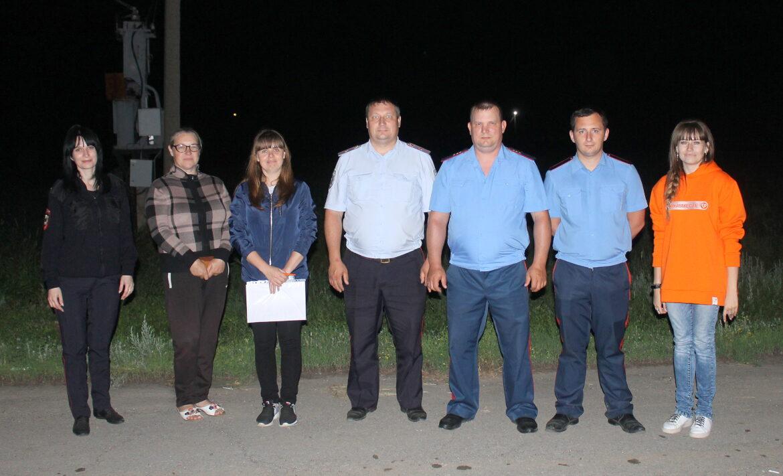 В Волгодонском районе проходят рейды по соблюдению комендатского часа несовершеннолетними гражданами