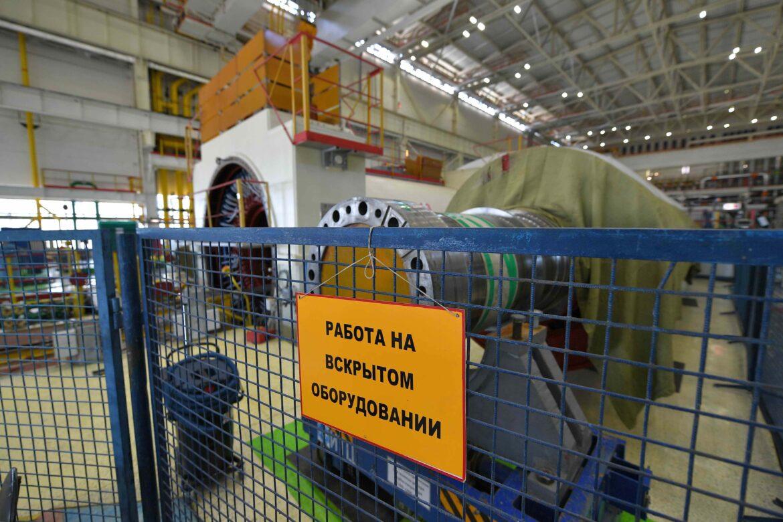 Ростовская АЭС: на энергоблоке №2 завершается ремонт турбогенератора
