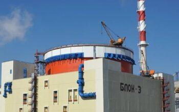 Ростовская АЭС 3 блок