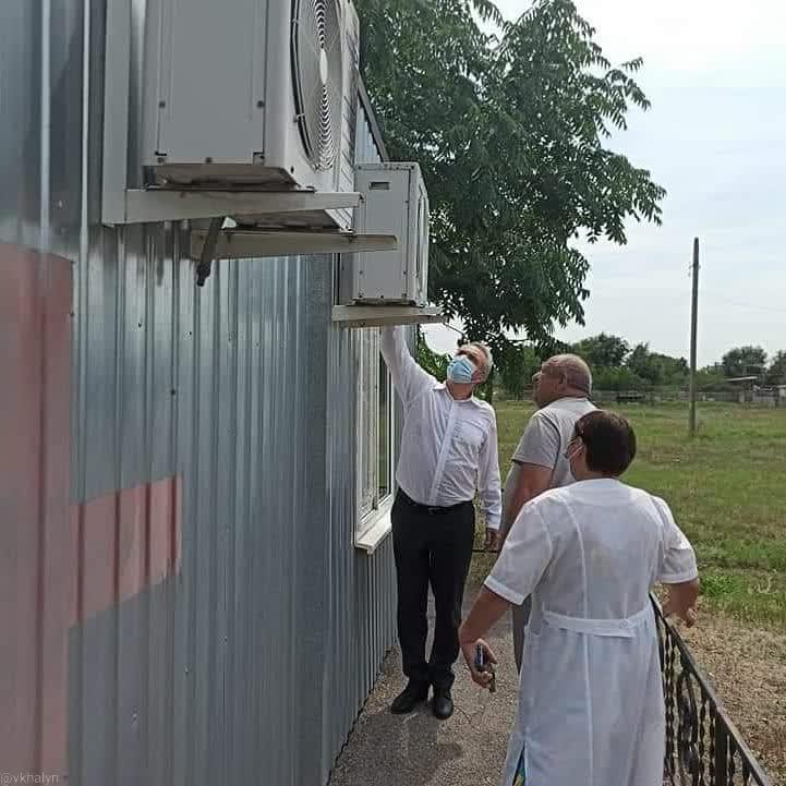 Депутат Виктор Халын посетил Волгодонской район с рабочим визитом