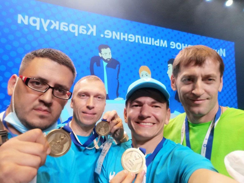 Два «золота» и «бронза» на чемпионате профмастерства «AtomSkills-2021»