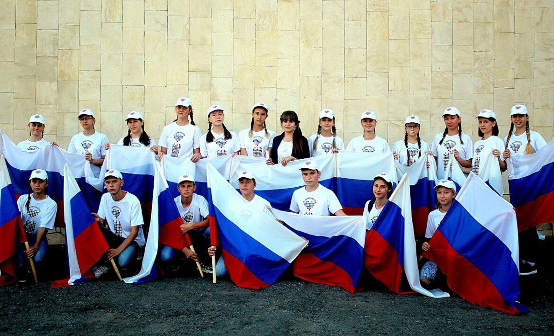 В Волгодонском районе прошли праздничные мероприятия, посвящённые 30-летию российского триколора