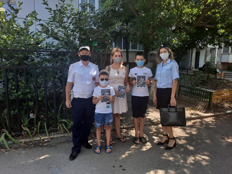 Рейд «Несовершеннолетний нарушитель ПДД» проходит в Волгодонском районе