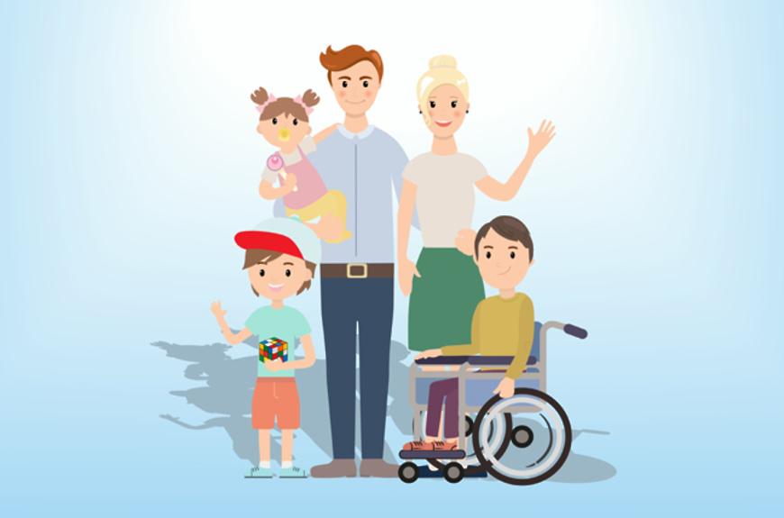На базе УСЗН Волгодонского района действует служба социального сопровождения семей, воспитывающих детей-инвалидов