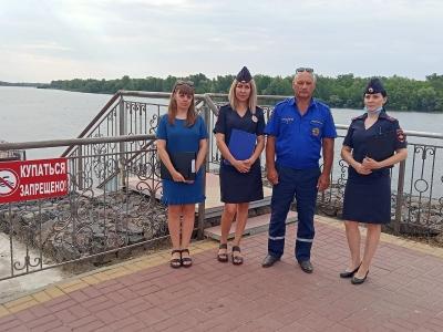 Профилактика несчастных случаев на воде в Волгодонском районе продолжается