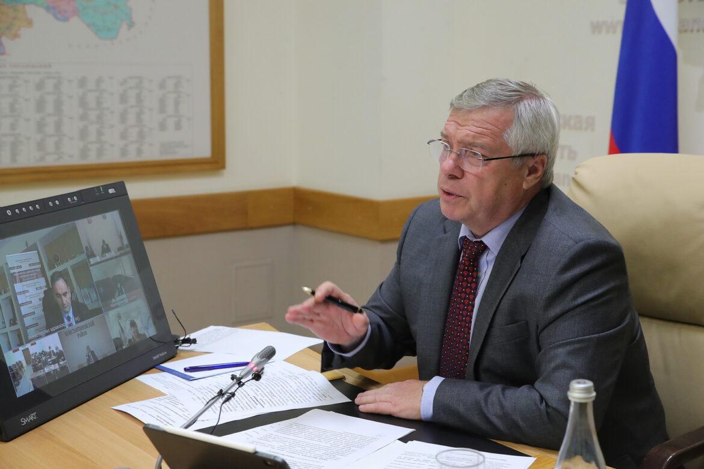 Губернатор поручил представить предложения по ускорению темпов вакцинации на Дону
