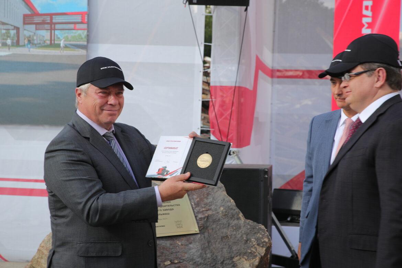 В Ростове-на-Дону стартовало строительство тракторного завода «Ростсельмаш»
