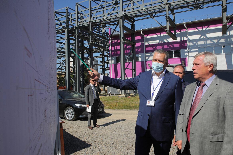 Готовность завода «ДонБиоТех» превышает 80 процентов