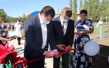 открытие ФАП в п. Донской